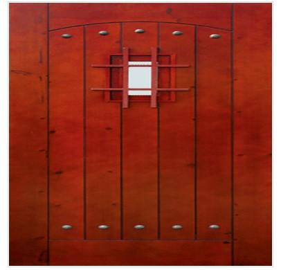 木质防火工艺门